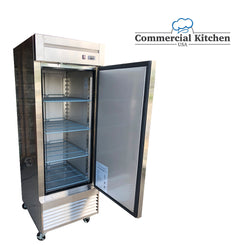 Dukers D28R 17.7 CU. Ft. Reach In Refrigerator - Commercial Kitchen USA
