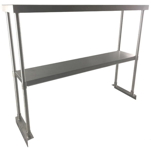 Stainless Steel Double Overshelf 12