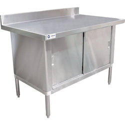 Commercial Stainless Steel Work Prep Table Cabinet 30