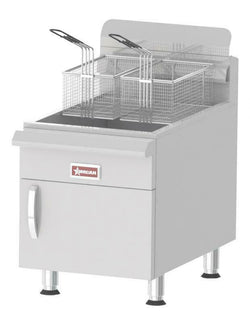 Omcan COMMERCIAL COUNTERTOP LP GAS FRYER w/ 53,000 BTU AND 30 LB. OIL CAP-43089 - Commercial Kitchen USA