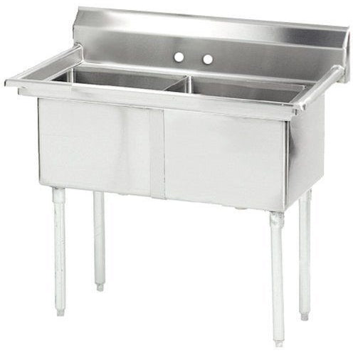 Stainless Steel 2 Compartment Sink 54