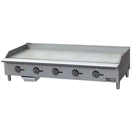 Commercial Kitchen Stainless Steel Thermostatic Gas Griddle 60