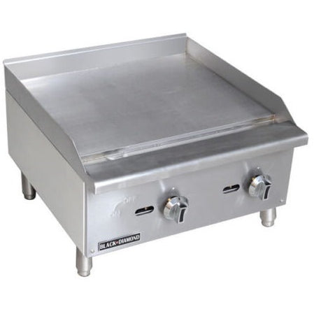 Commercial Kitchen Stainless Steel Gas Griddle 24