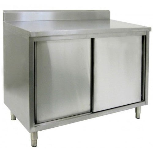 NSF Certified Stainless Work Cabinet 430 Stainless 18 Gauge 30
