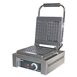 Commercial Countertop Rectangular Brussells Style Waffle Maker 4