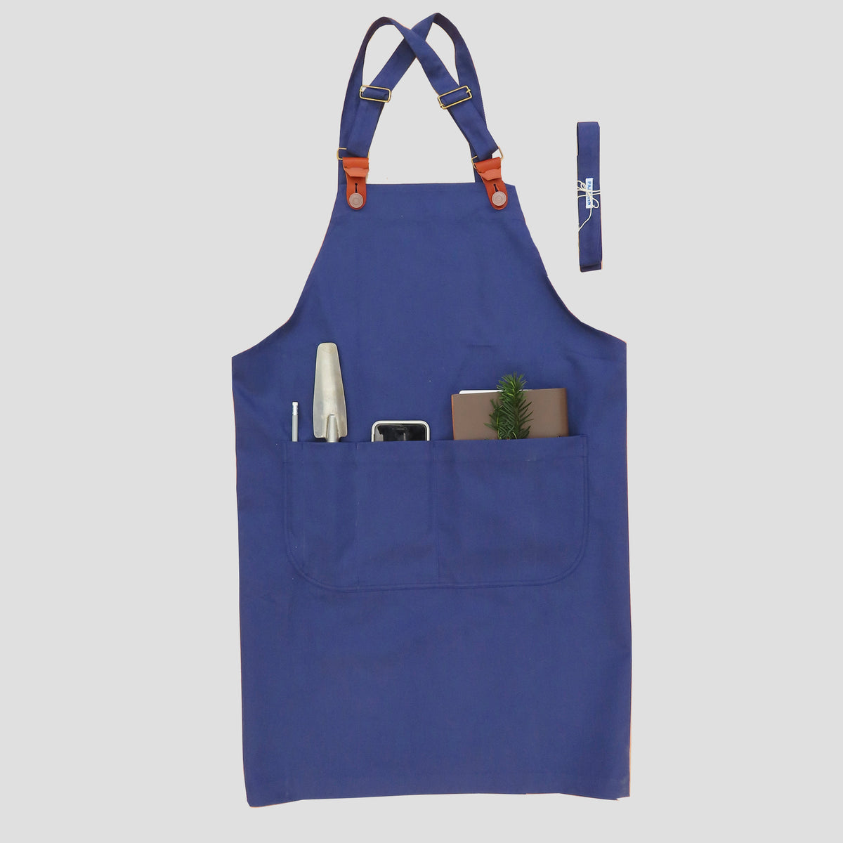 Two Way Apron Indigo