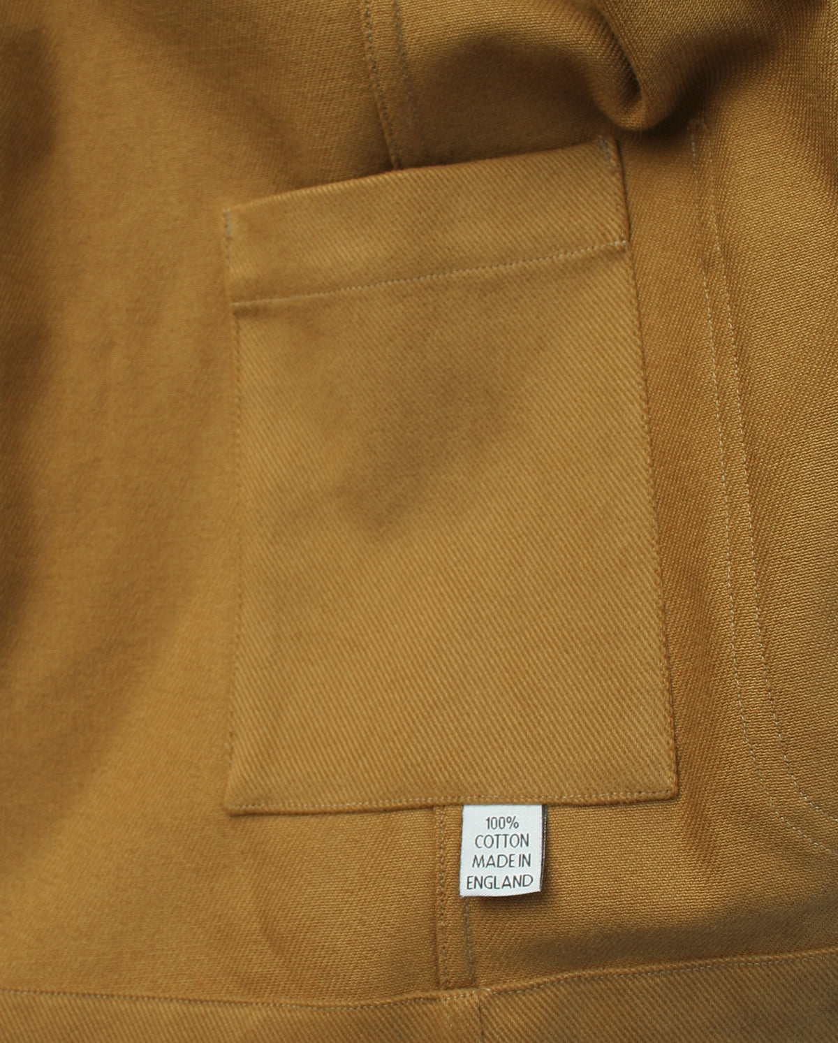 Traditional chore jacket Mustard