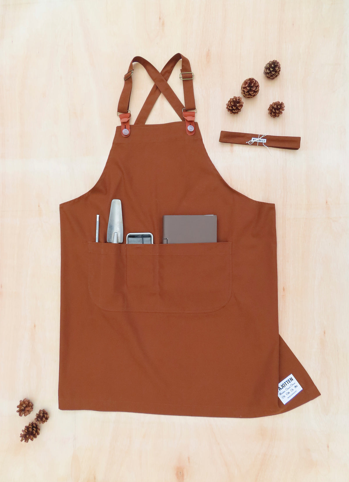 Two way Apron Rust