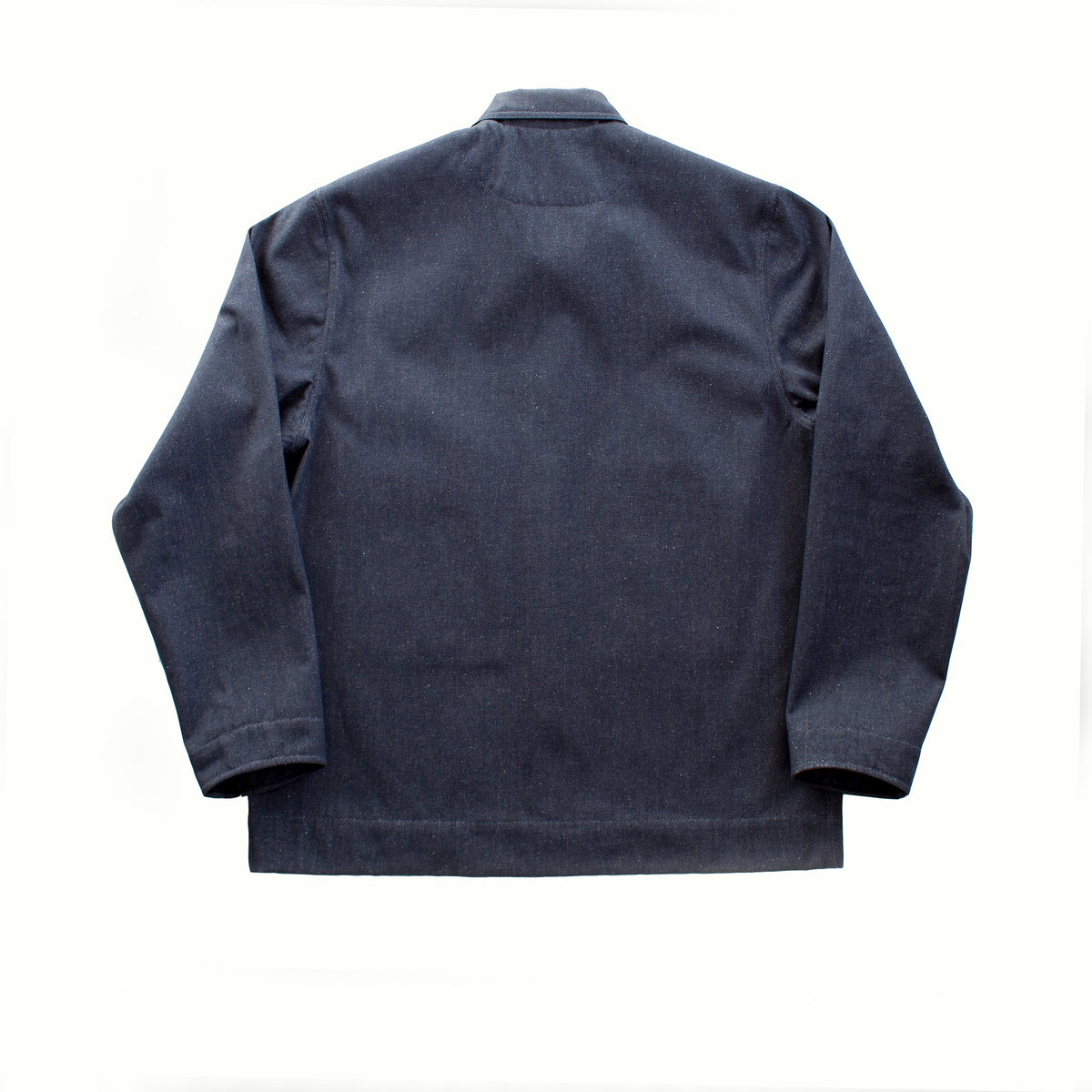 Workers jacket recycled denim