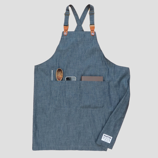 Two Way Apron Denim