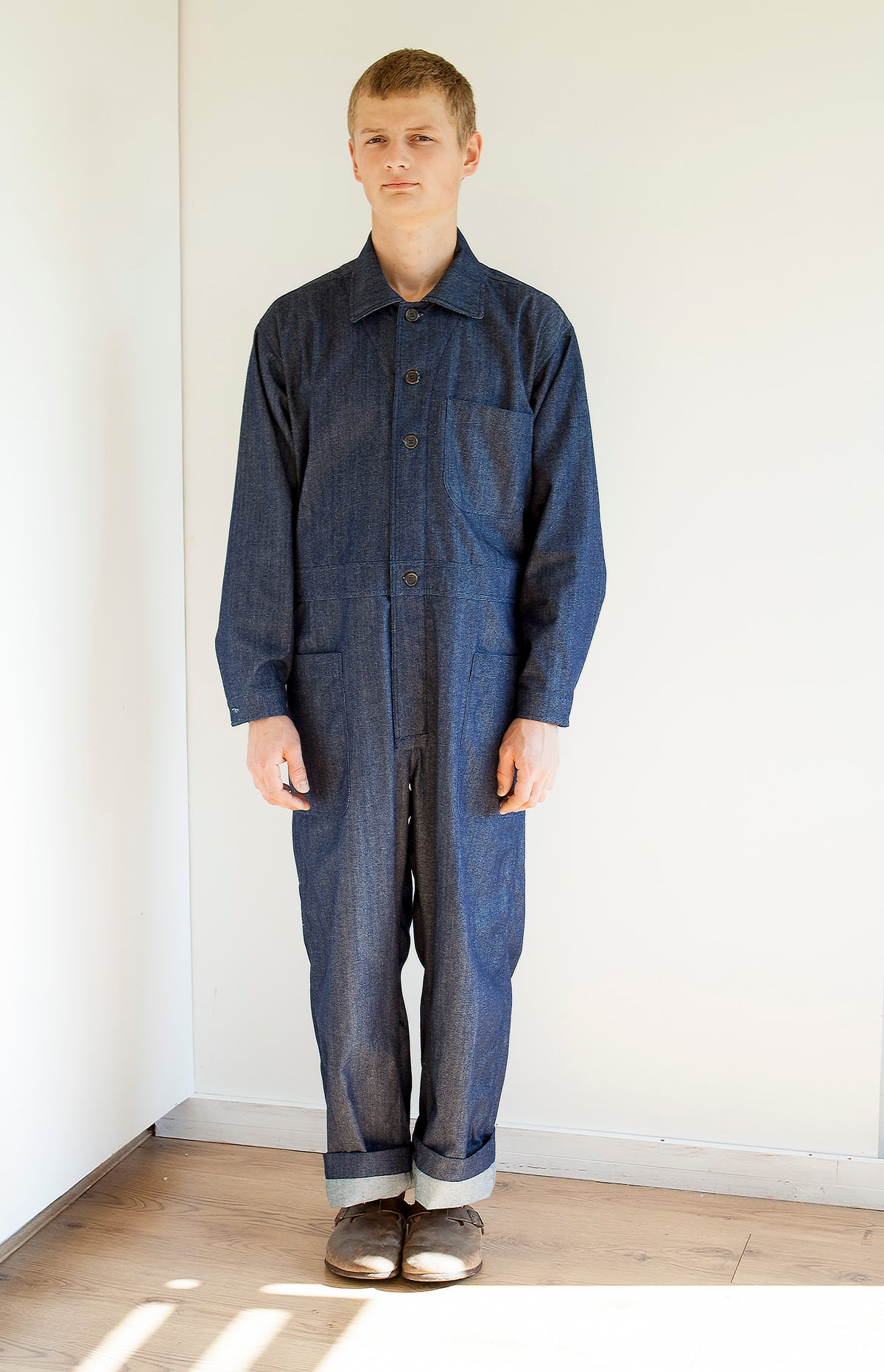 pajotten sustainable menswear denim overalls