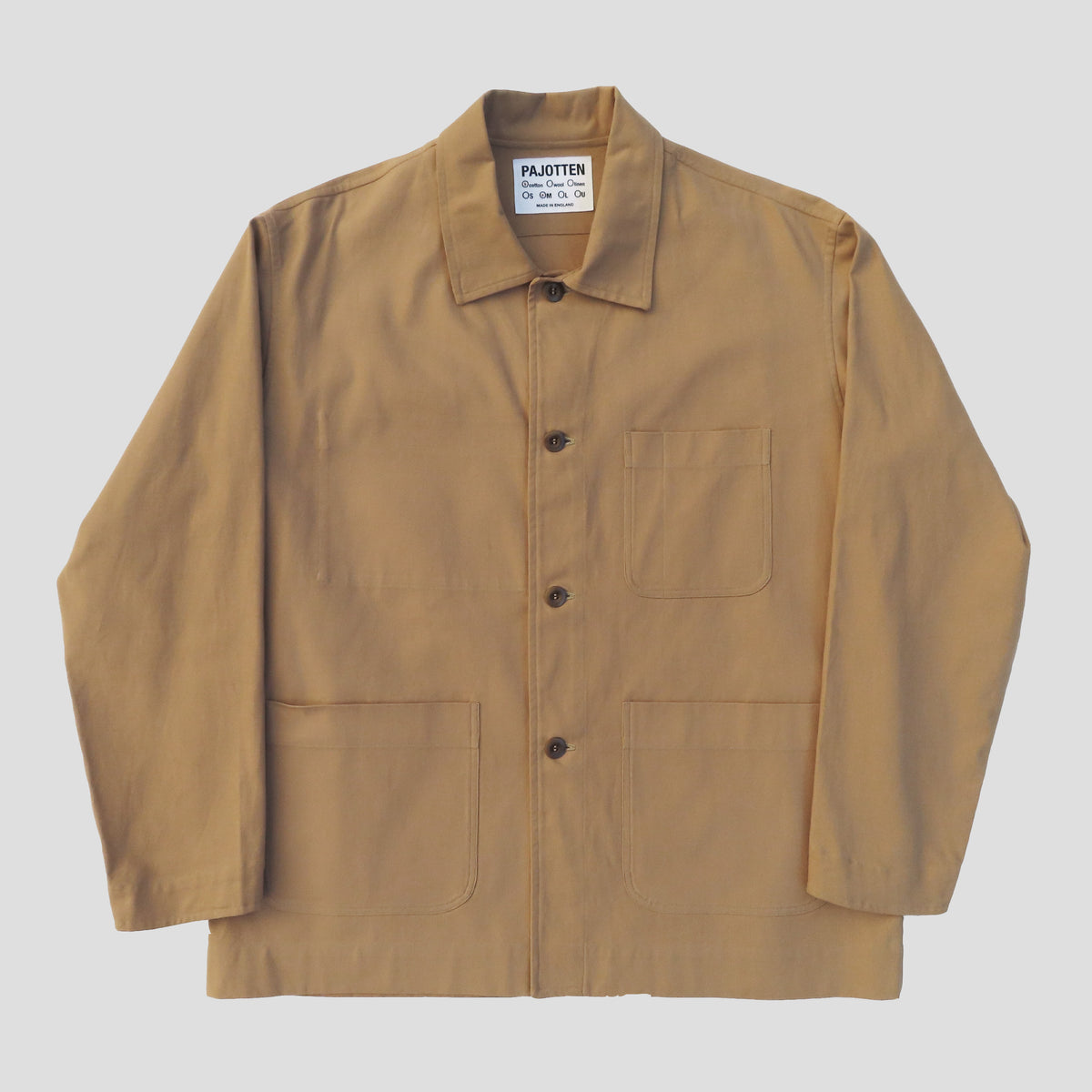 tan coloured chore jacket