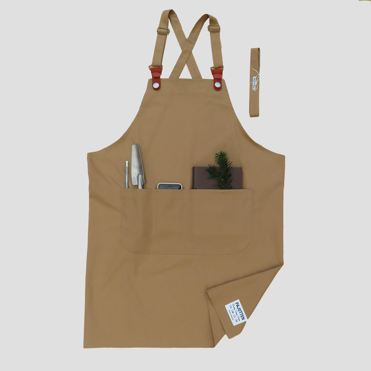 Two way Apron Tan