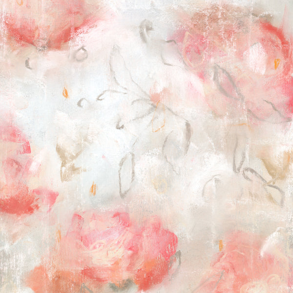 Modern floral prints contemporary garden abstract by Sara Richardson