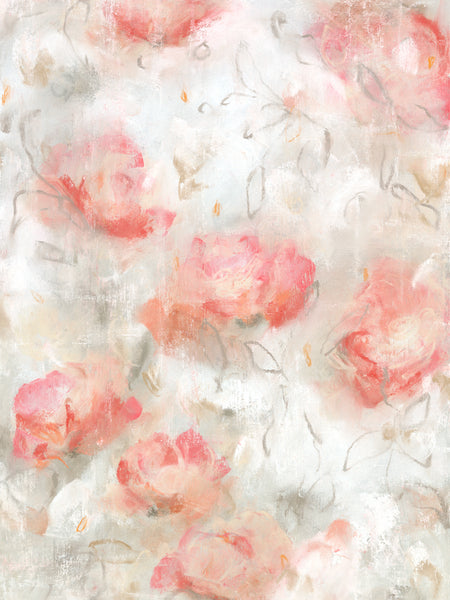 Abstract flora contemporary blooms and drawings by artist Sara Richardson