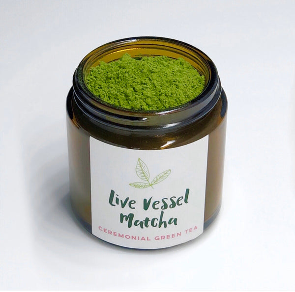 Ceremonial Matcha green tea (FREE when added to cart with travel mug or matcha bowl)