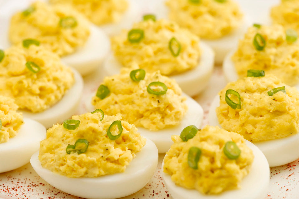 Low Calorie Deviled Eggs