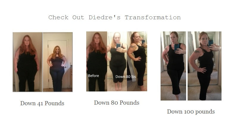 Diedre lost 133 pounds!