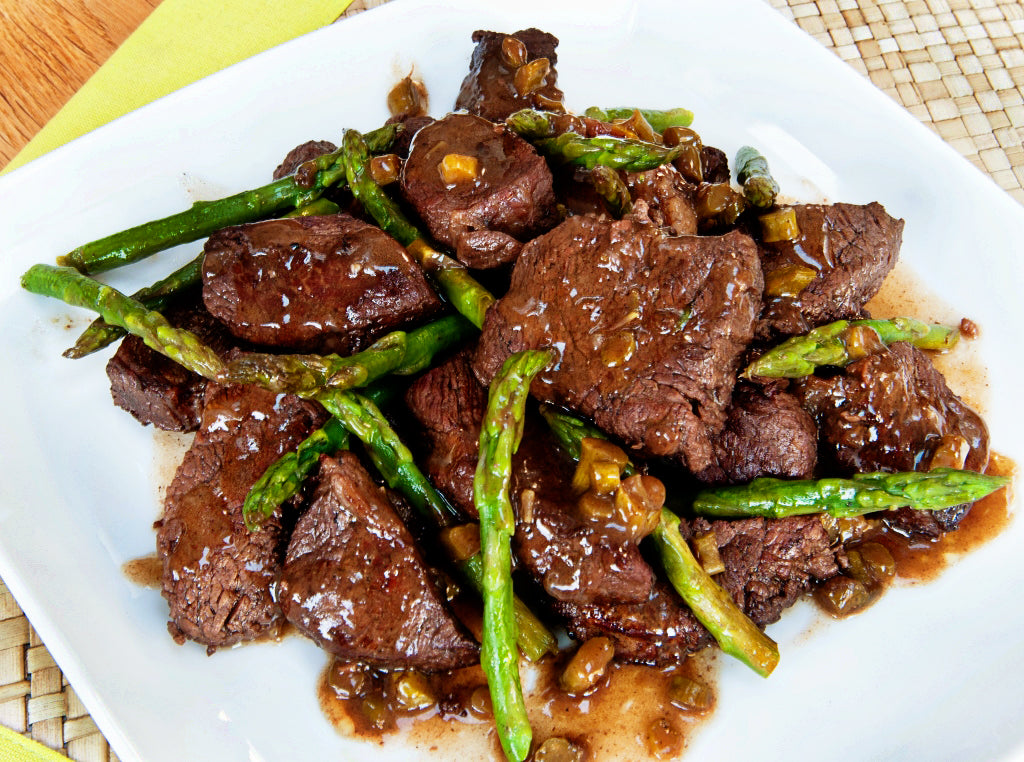 Beef and Asparagus Medley