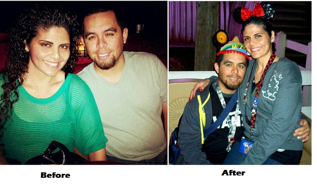 This couple lost a combined 38 pounds in one month!