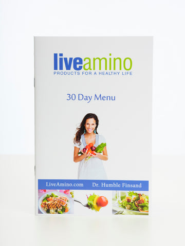 Amino Diet 30 Day Menu Plan