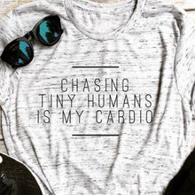 Chasing Tiny Humans Tee
