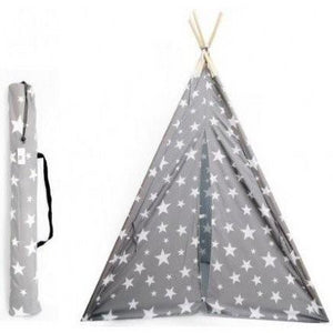 Tipi Grey and White Star