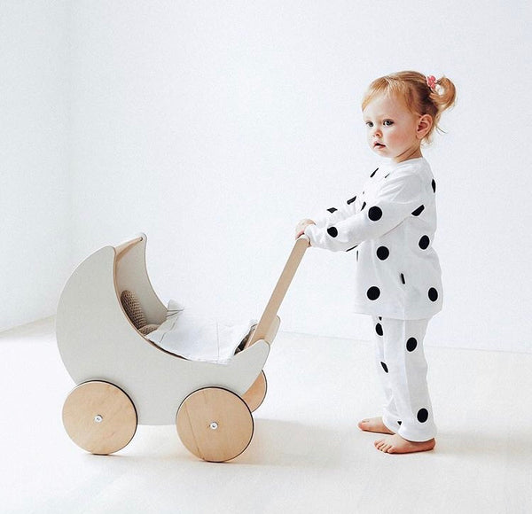Organic Cotton Dot Pyjamas