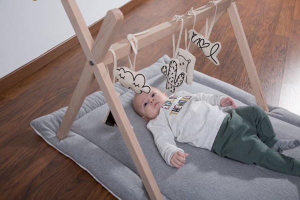 Tipi Wooden Play Gym