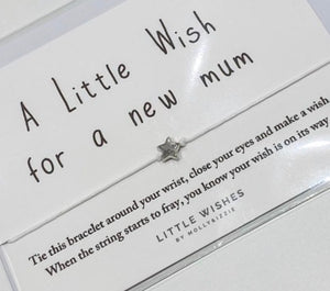 Little Wishes Bracelet- Mum to be bracelet
