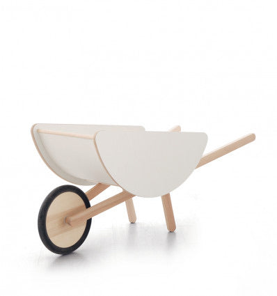 Wooden Wheelbarrow
