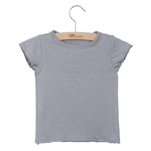 Short Sleeve top - Lilac Grey