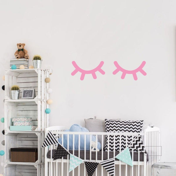 Sleepy Eyes Vinyl Wall Decals