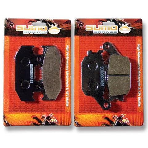 Honda Front + Rear Brake Pads for NX500 NX 650 Dominator XL600 / XRV 650 Africa Twin
