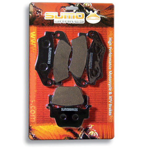 Honda Front + Rear Brake Pads for TRX 450 R ER (2004-2012)