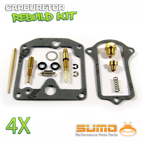 4 X Kawasaki High Quality Carburetor Rebuild Carb Repair Kit
