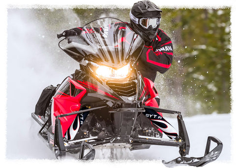 Black Flame Shock Protector Covers Yamaha Snowmobile (all models) (Set 2)  New