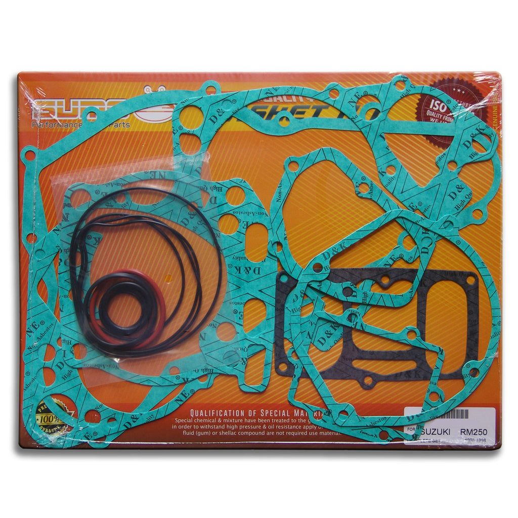 Suzuki High Quality Complete Engine Gasket Kit Set Rm 250 1996 1997 Diagram 1998