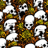Orange Skull Shock Protector Covers Kawasaki KFX 450 R KFX 700 (Set of 3) NEW
