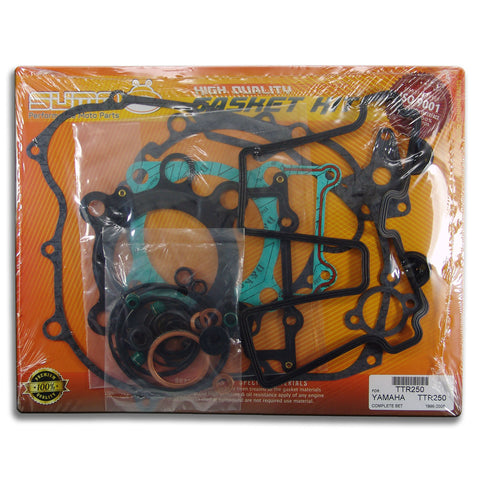 Yamaha High Quality Complete Engine Gasket Kit Set TTR 250 [1996-2006] (33 Pcs)