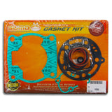 Kawasaki Top End Engine Gasket Kit Set KX 100 [1998-2014] Suzuki RM 100 [03-04]
