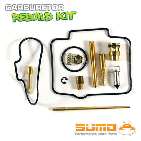 Honda High Quality Carburetor Rebuild Carb Repair Kit Set CR 125 R [2000-2001]