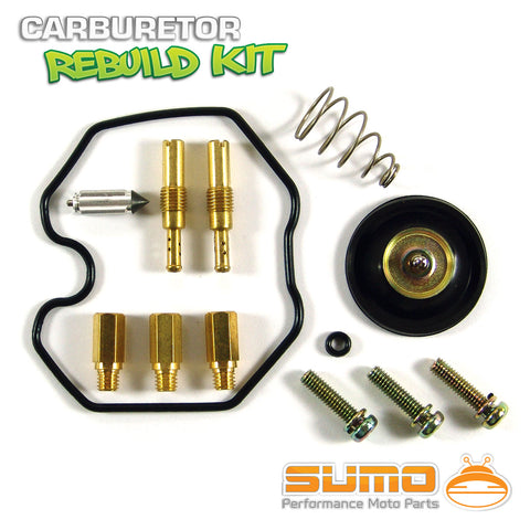 Honda Carburetor Rebuild Carb Kit + Air Cut Off Valve Repair Set XR400R [98-04]