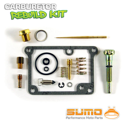 Kawasaki High Quality Carburetor Rebuild Carb Repair Kit Set KX 65 [2002-2009]