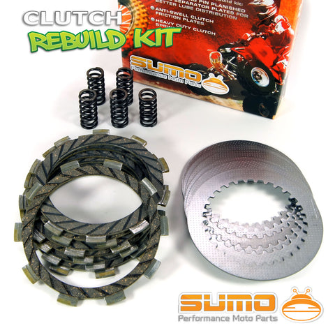 Kawasaki Complete Clutch Kit for KX 80 & KX 100 (1989-1997) Discs + Plates + Springs