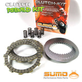 Kawasaki Clutch Kit for KX250 (87-89) & KX500 (89-04) Friction & Steel Plates +Springs
