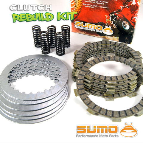 Honda Complete Clutch Kit CRM 250 R MK1 MK2 MD24 (89-93) XR 400 R RT (96) ATV ATC 250R (85)