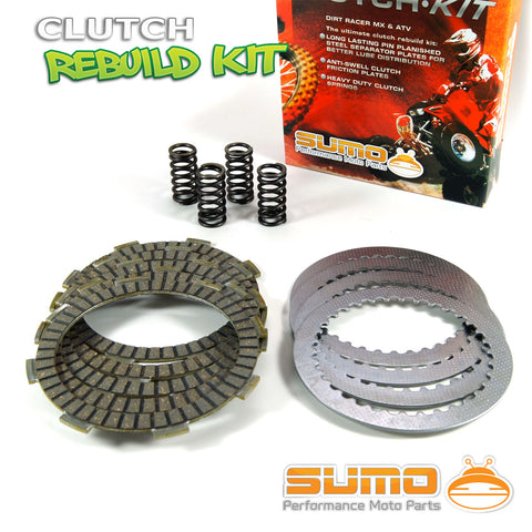 Honda Complete Clutch Kit XR 200 R (1980-2002) Friction & Steel Plates + Springs