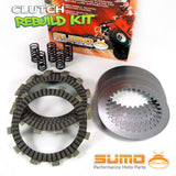 Kawasaki Complete Clutch Kit for KX 125 (1990-1992) Friction & Steel Plates + Springs