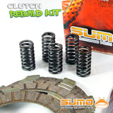 Kawasaki Complete Clutch Kit for KX 80 (1985-1986-1987) Discs + Plates + Springs